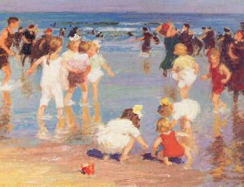 Edward Henry Potthast : Happy Days