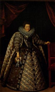 Frans The Younger Pourbus : Elizabeth of France