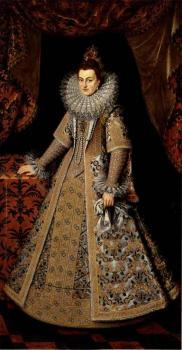 Frans The Younger Pourbus : Isabella Clara Eugenia of Austria
