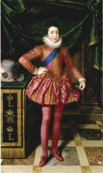 Frans The Younger Pourbus : Louis XIII as a Child