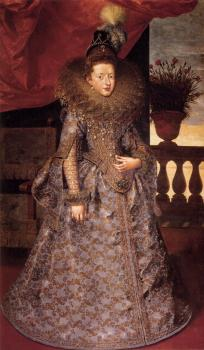 Frans The Younger Pourbus : Portrait of Margherita Gonzaga