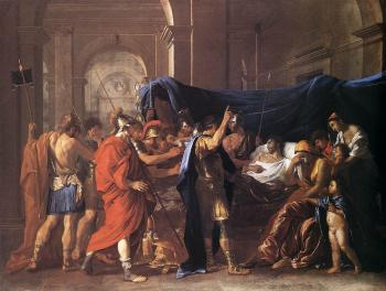 Nicolas Poussin : The Death of Germanicus