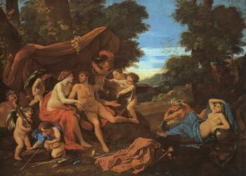 Nicolas Poussin : Mars and Venus