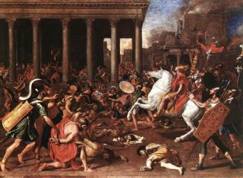 Nicolas Poussin : The Conquest of Jerusalem