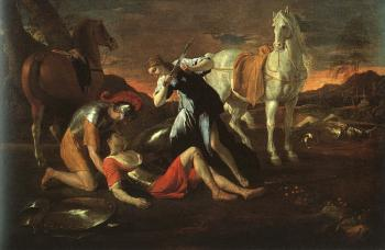 Nicolas Poussin : Tancred and Erminia