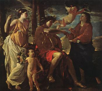Nicolas Poussin : The Inspiration of the Poet