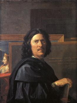 Nicolas Poussin : Self-Portrait
