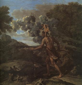 Nicolas Poussin : Blind Orion Searching for the Rising Sun