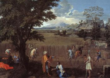 Nicolas Poussin : The Summer Ruth and Boaz