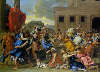 The Rape of the sabine women II