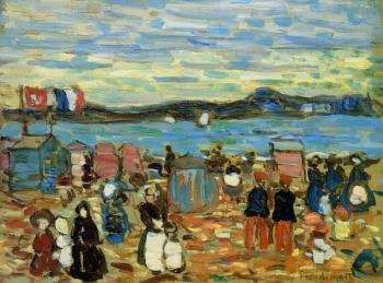 Bathing Tents, St Malo