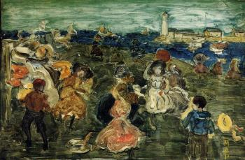 Maurice Brazil Prendergast : Lighthouse