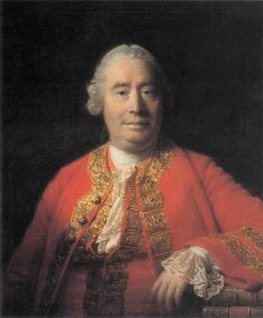 Allan Ramsay : Portrait of David Hume