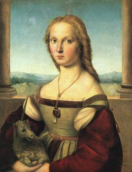 Raphael : Lady with a Unicorn