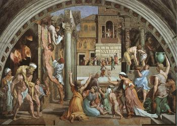 Raphael : The Fire in the Borgo
