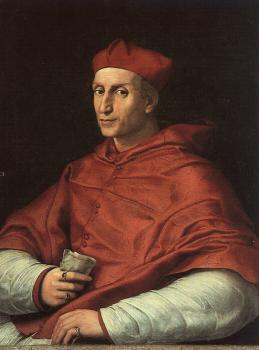Raphael : Portrait of Cardinal Bibbiena