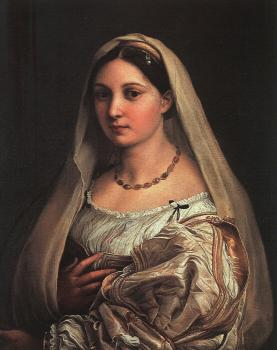 Raphael : Woman with a Veil, La Donna Velata