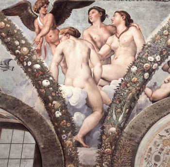 Raphael : Cupid and the Three Graces