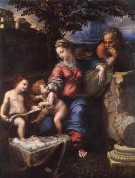 Raphael : Holy Family below the Oak