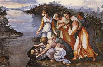 Raphael : Moses Saved from the Water