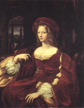 Raphael : Portrait of Jeanne d'Aragon