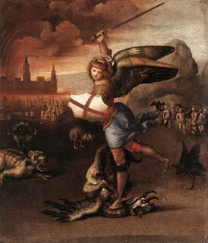 Raphael : St Michael and the Dragon