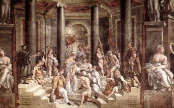 Raphael : The Baptism of Constantine