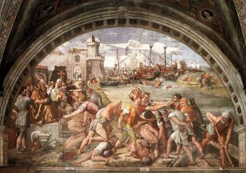 Raphael : The Battle of Ostia