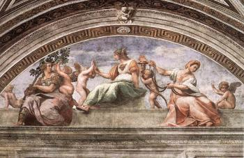 Raphael : The Cardinal Virtues