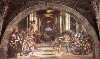 Raphael : The Expulsion of Heliodorus from the Temple