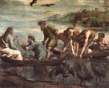 Raphael : The Miraculous Draught of Fishe