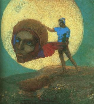 Odilon Redon : The Fall of Icarus