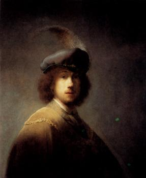 Self-Portrait with Plumed Beret