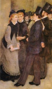 Pierre Auguste Renoir : Leaving The Conservatoire