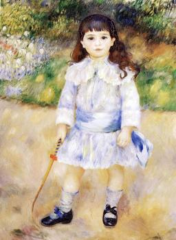 Pierre Auguste Renoir : Child with a Whip