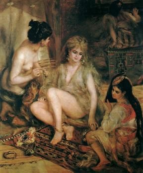 The Harem (Parisian Women Dresses as Algerians)