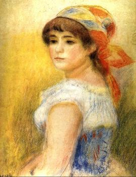 Pierre Auguste Renoir : Young Girl