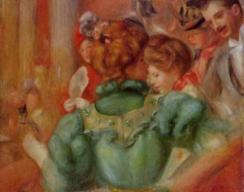Pierre Auguste Renoir : A Box in the Theater des Varietes