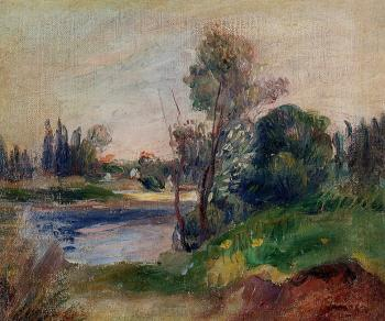 Banks of a River III