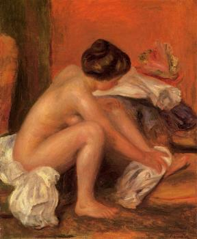 Bather Drying Her Feet