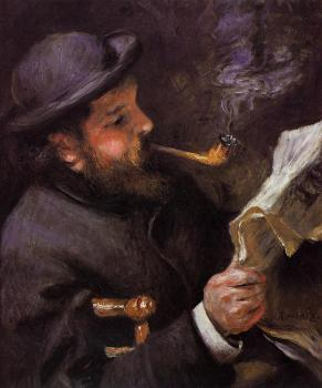 Claude Monet Reading
