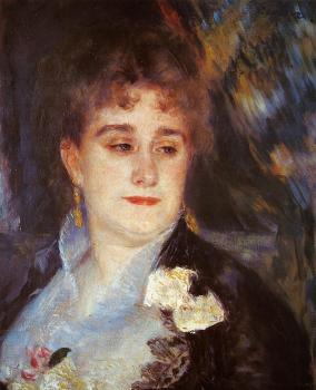 First Portrait of Madame Georges Charpentier
