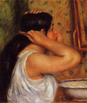 La Toilette, Woman Combing Her Hair
