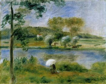 Landscape, Banks of the River