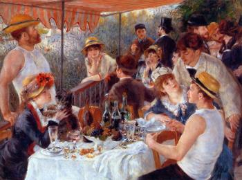 Pierre Auguste Renoir : Luncheon of the Boating Party