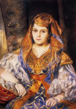 Pierre Auguste Renoir : Madame Stora in Algerian Dress