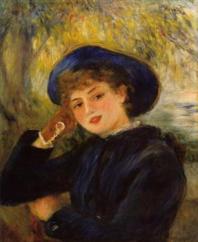 Mademoiselle Demarsy, Woman Leaning on Her Elbow
