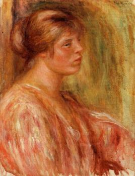 Pierre Auguste Renoir : Portrait of a Woman