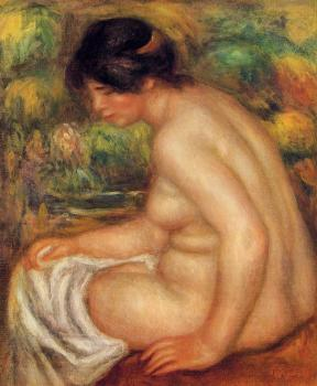 Seated Nude in Profile, Gabrielle