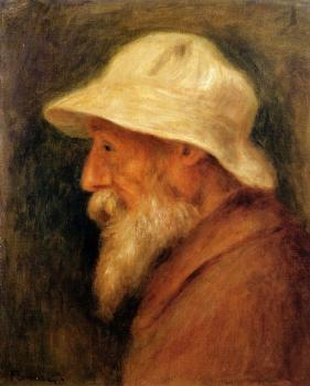 Self Portrait with a White Hat, II